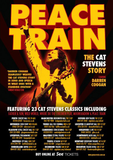 Peace Train The Cat Stevens Story Maple Tree Entertainment Ltd