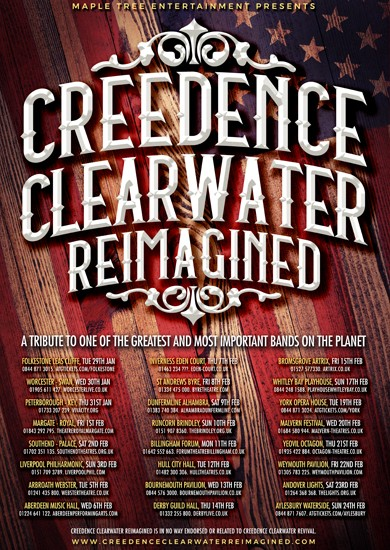 Creedence Clearwater Reimagined | Maple Tree Entertainment Ltd